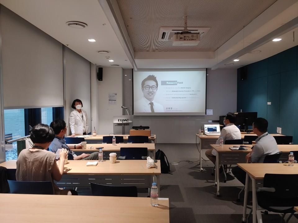 2020.08.25 AI 기술 임상적용 강연 개최(화상)