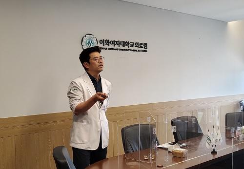 2021.06.22 특강_이응만 정밀의료센터장 강연 개최(화상)
